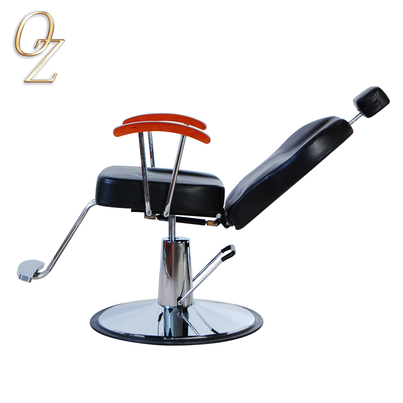 Salon Furniture Black PVC Leather Barber Chair Hydraulic Barber Chairs Wholesale