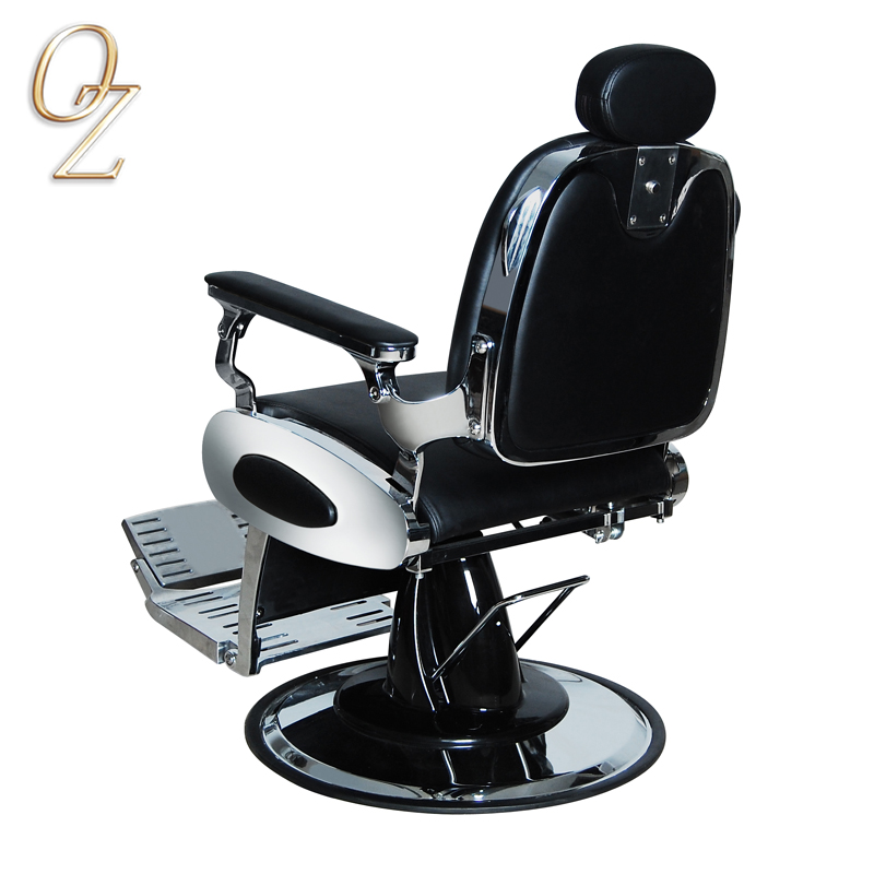 High Density Foam Hair Styling Chair China Elegant Anti Microbial PU Vinyl Barber Salon Chairs Barbershop Equipment