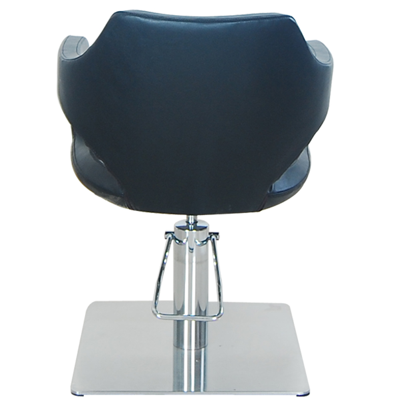 Hydraulic black hair stylist Haircut salon chair