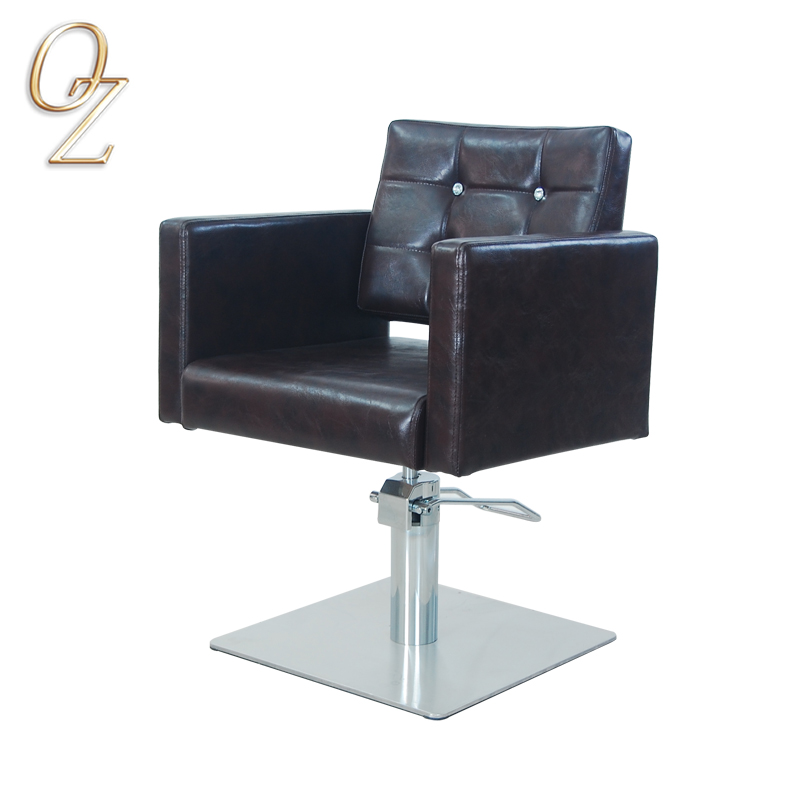 Top Quality Barber Salon Chair Australian Owned Fire Retardant Leather Hair Dressing Chairs Elegant Beauty Shop Equipment