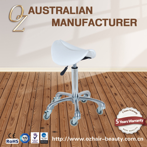 Beauty Salon Massage Spa Pedicure Nail Saddle Dental Clinic Stool With Hair Free Wheel Factory