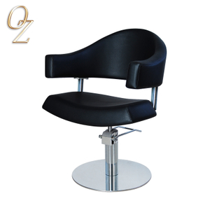 European Standard Black Hair Cutting Salon Hairdressing Chair Hair Salon Furniture Manufacturer