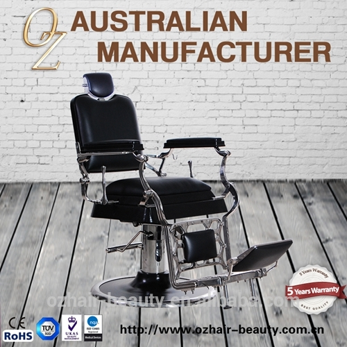 Heavy Duty Quality Men Used Salon Chair Hairdressing Chair Haircut Barber Chairs With Australia Standard Quality