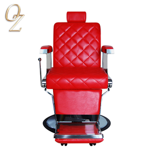 New Classic Reclining Barber Salon Chair Salon Furniture Barber Shop Equipment