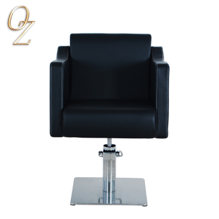 Premium European Standard Hair Styling Chair Fire Retardant Leather Barber Salon Chairs Beauty shop Equipment Factory