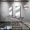 Salon Furniture Equipment Stations Loft Style Double Mirror Styling Mirror Station