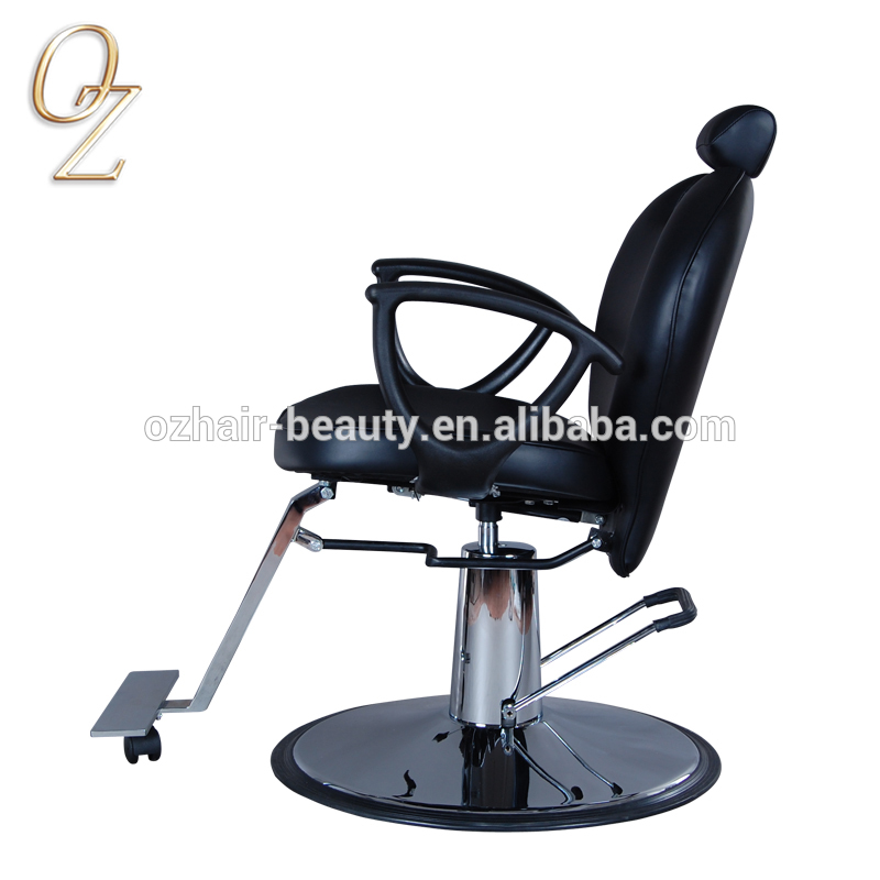 Australian Owned Barbershop Equipment PVC Leather Hairdressing Chair Hydraulic and Reclining Hair Cut Chairs