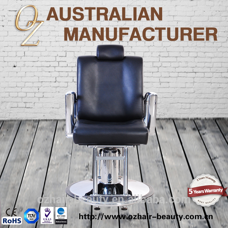 Hydraulic Styling Barber Chair Manufacturer Nail Salon Haircutting Chairs Heavy Duty Men Barber Chair