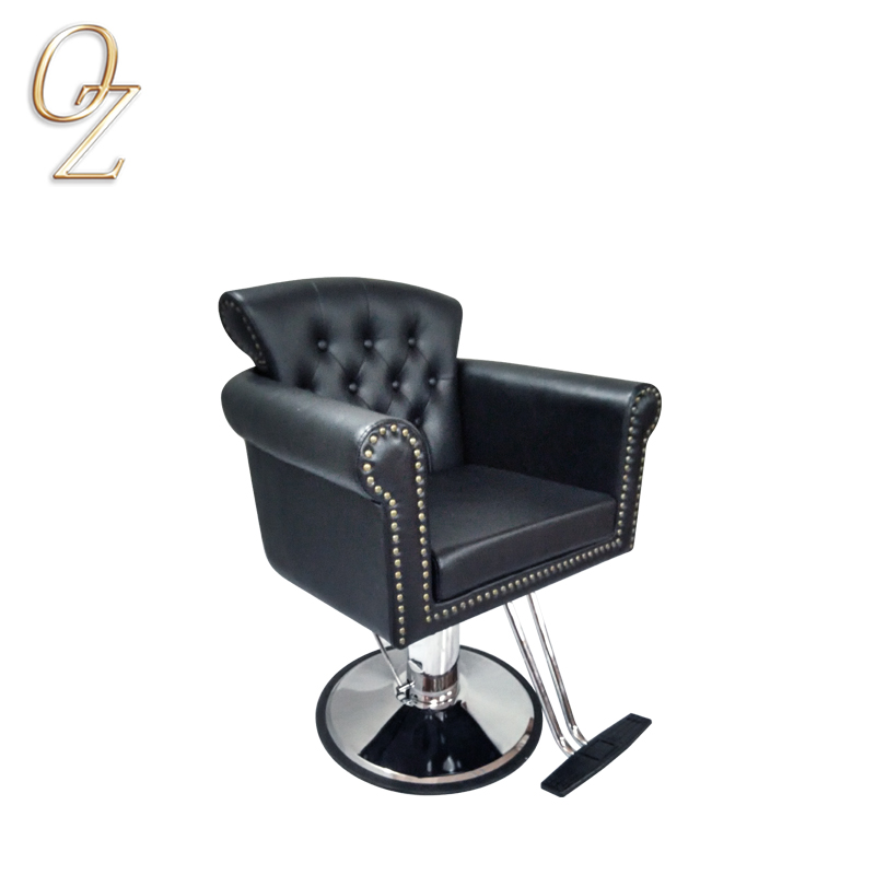 Fashion Hair Salon Chair Beauty Hair Cutting Chair With Five Star Base Hair Dressing Chair