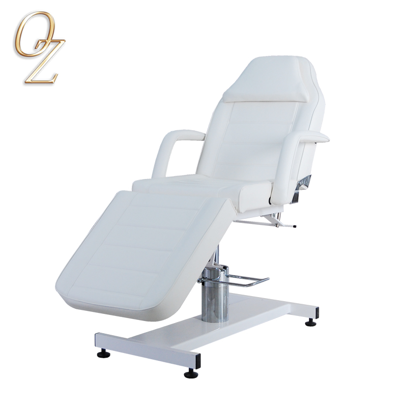 Hydraulic Portable Manual Adjustable Facial Bed Treatment Bed Beauty Salon Furniture