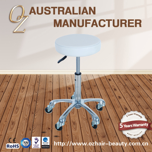 Salon Master Stool Hair Cutting Stool With Hair Free Wheels