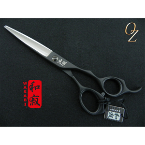 professional barber hairstylist cutting salon scissors