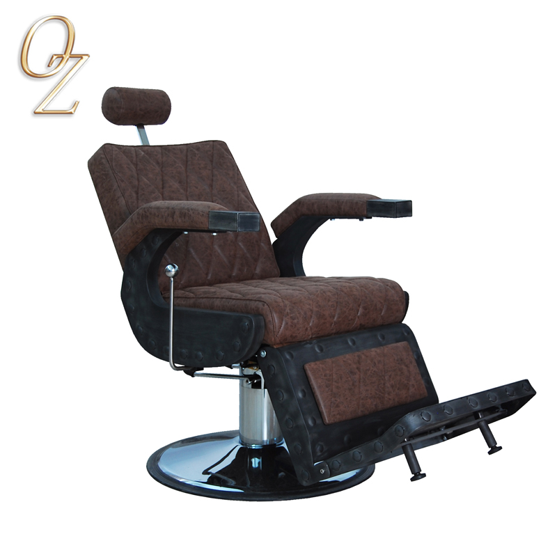 Hot Sale Leather Antique Style Heavy Duty Cheap Barber Chair