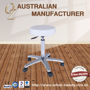 High Quality Saddle Stool Chair Beauty Salon Master Stool Cutting Saddle Bar Stools