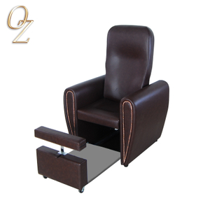 Manual Reclining PVC Leather foot spa pedicure chairs Wholesale