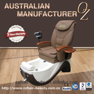 High Back Pedicure chair Reclining Used Pedicure Chair Foot spa pedicure chair