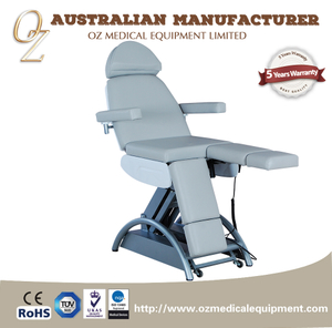 Manual Hydraulic Examation Bed Physiotherapy Massage Table Physical Therapy Lift Treatment Table