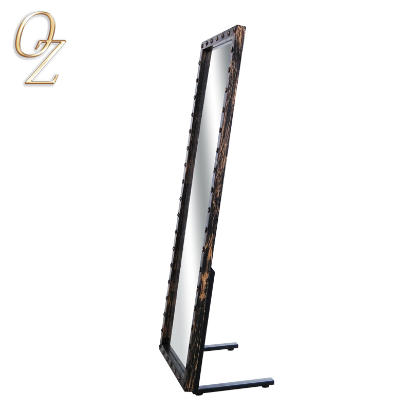 Hair Salon Styling Stations Hairdressing Mirrors Single Mirror Station