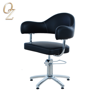 New style black hair salon cutting chairs