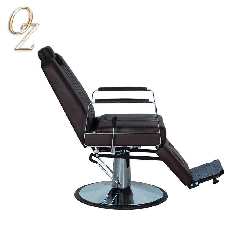 Reclining Barber Chair Hair Salon Furniture Modern Styling Chair