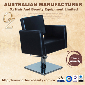 All Purpose Styling Chair Barber And Salon Chairs Brown Hairdressing Chair